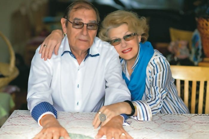 Светлана Дружинина и ее муж Анатолий Мукасей   Фото: 24smi.org