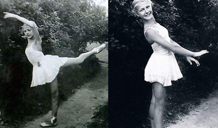 В юности Дружинина мечтала стать балериной | Фото: uznayvse.ru