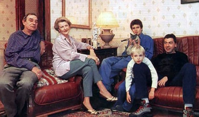Светлана Дружинина с семьей   Фото: uznayvse.ru