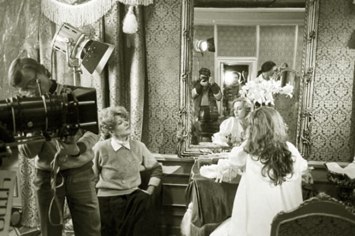 Светлана Дружинина на съемках фильма *Гардемарины, вперед!*, 1987   Фото: aif.ru
