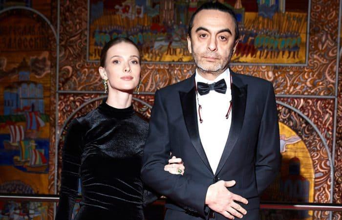 Актриса с мужем   Фото: irma-stream.ru