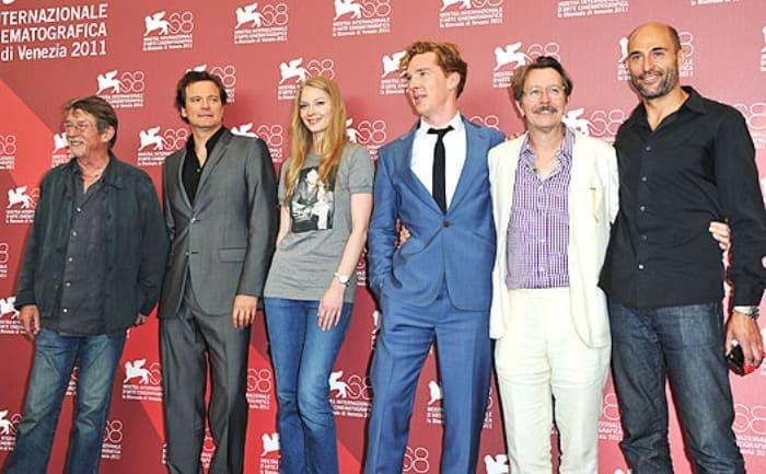 Актриса с зарубежными коллегами на кинофестивале в Венеции, 2011   Фото: spletnik.ru