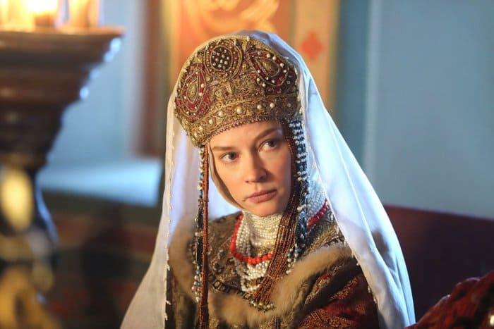 Светлана Ходченкова в сериале *Годунов*, 2018   Фото: kino-teatr.ru