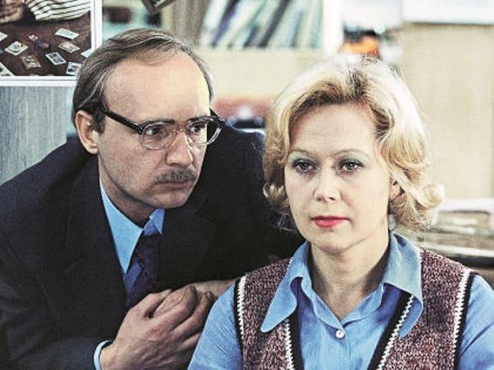 Кадр из фильма *Служебный роман*, 1977   Фото: kino-teatr.ru