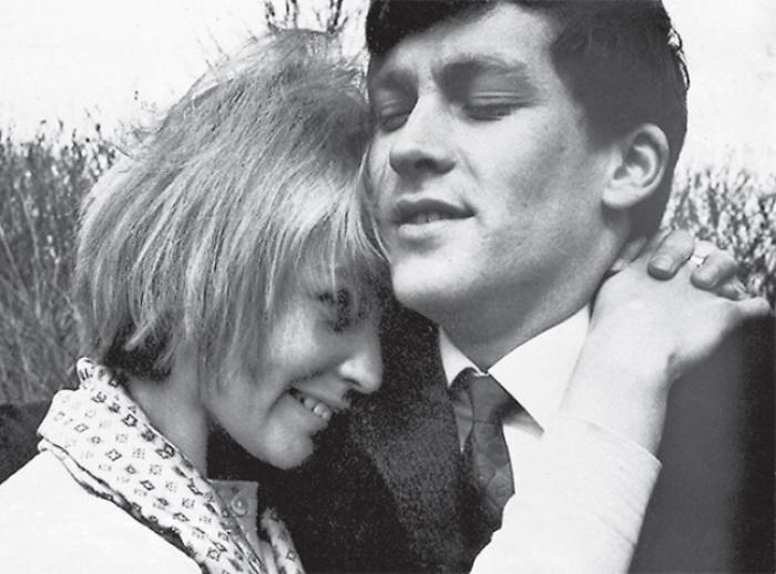 Светлана Светличная с мужем Владимиром Ивашовым, 1960-е гг. | Фото: liveinternet.ru