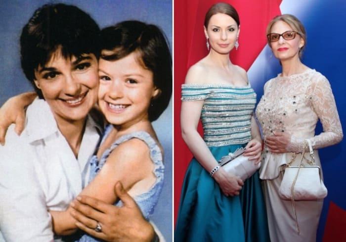 Актриса с дочерью Ириной | Фото: kino-teatr.ru, starhit.ru