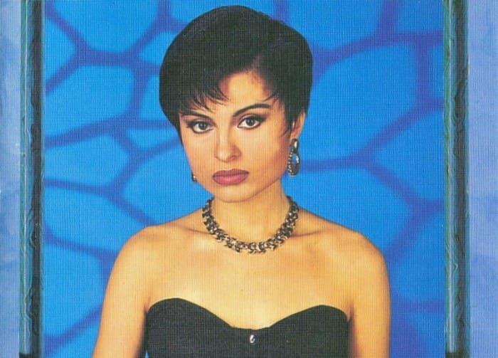 Популярная в 1990-х гг. певица Светлана Владимирская | Фото: discogs.com