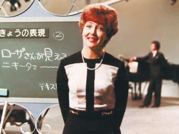 Ведущая Светлана Жильцова на японском телевидении   Фото: kino-teatr.ru