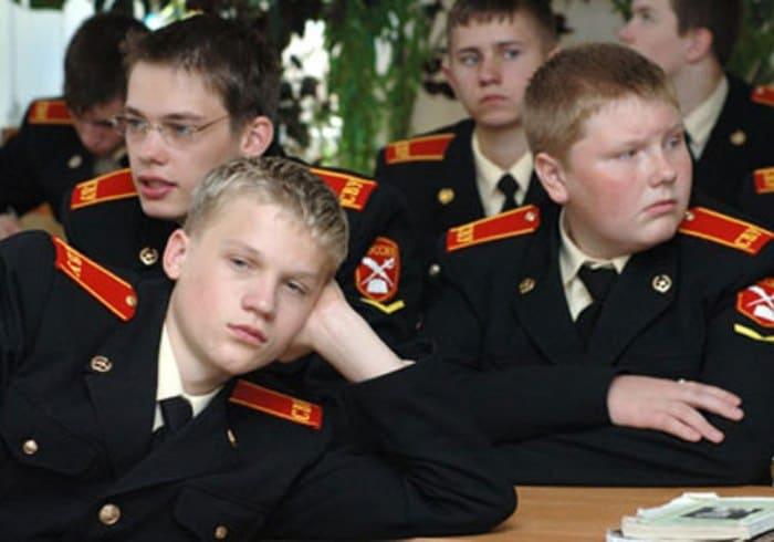 Кадр из сериала *Кадетство* | Фото: kino-teatr.ru