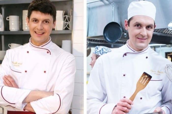 Сергей Епишев в 1-м и 6-м сезонах *Кухни* | Фото: vokrug.tv