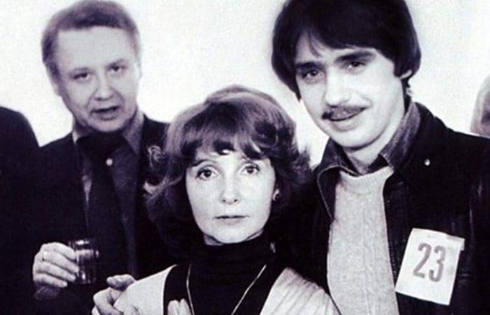 Антон Табаков с родителями   Фото: uznayvse.ru