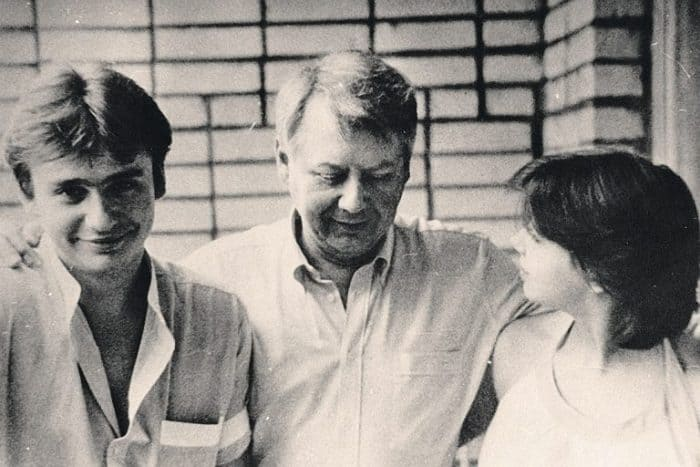 Олег Табаков и его дети от первого брака Антон и Александра   Фото: muzh-zhena.ru