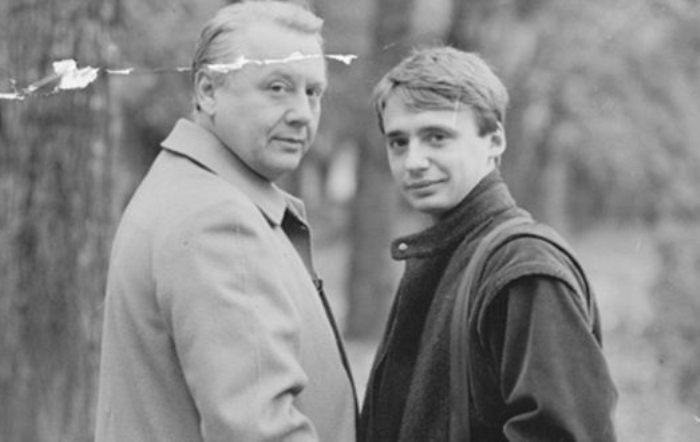 Олег Табаков и его старший сын Антон   Фото: uznayvse.ru