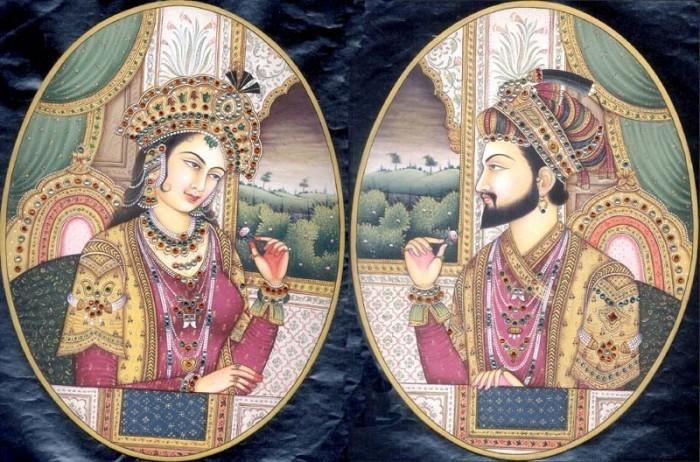 Шах Джахан и его любимая жена – Мумтаз-Махал | Фото: radikal.ru
