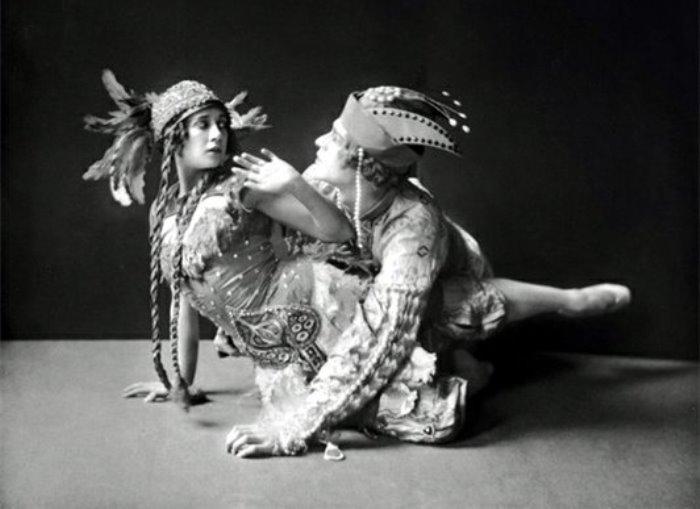 Т. Карсавина в балете *Жар-птица* | Фото: liveinternet.ru