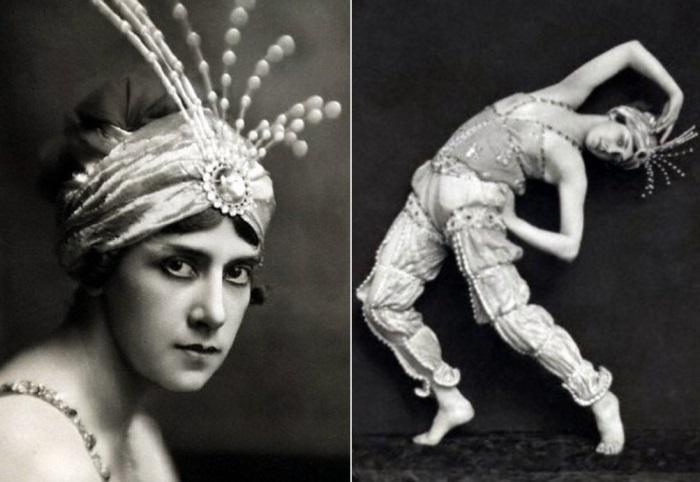 Т. Карсавина в балете *Шахерезада*, 1912 | Фото: liveinternet.ru