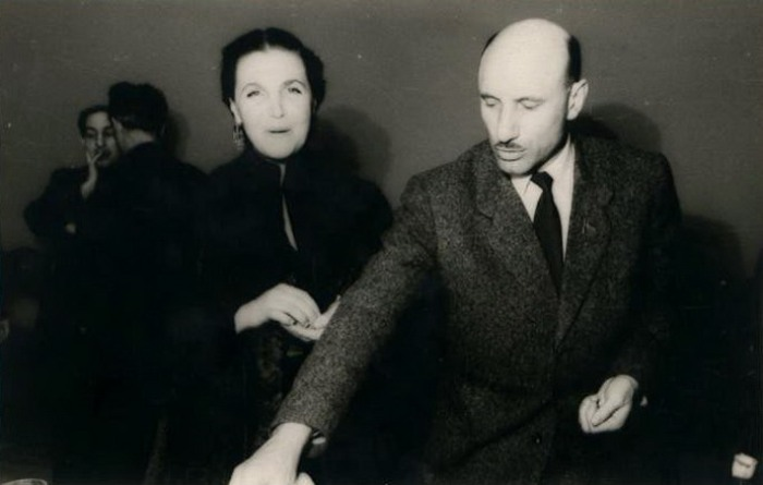 Тамара Макарова с Сергеем Герасимовым | Фото: kino-teatr.ru