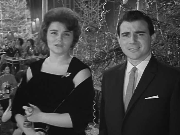 Тамара Синявская на *Голубом огоньке*, 1964   Фото: kino-teatr.ru