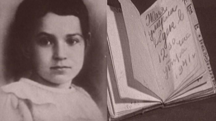 Таня Савичева и ее блокадный дневник | Фото: mtdata.ru