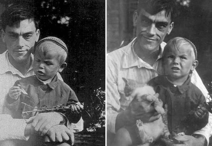 Арсений Тарковский с сыном Андреем | Фото: mif-medyza.ru