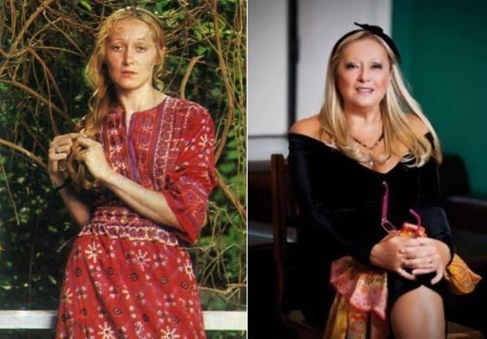 Татьяна Михалкова (Соловьева) в 1970-е и в 2000-е нг. | Фото: fashionblog.com.ua и uznayvse.ru