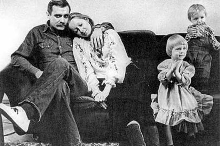 Татьяна Михалкова с мужем и детьми | Фото: telegrafua.com