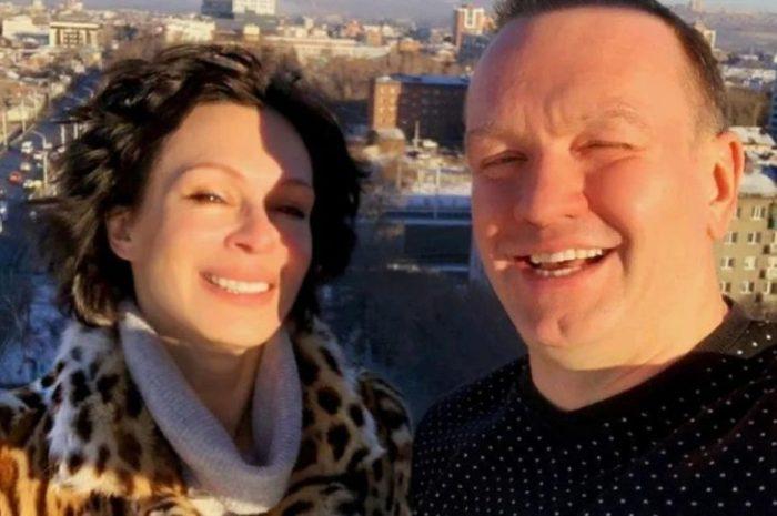 Актриса с мужем, оператором Андреем Закаблуковским | Фото: pic-words.com