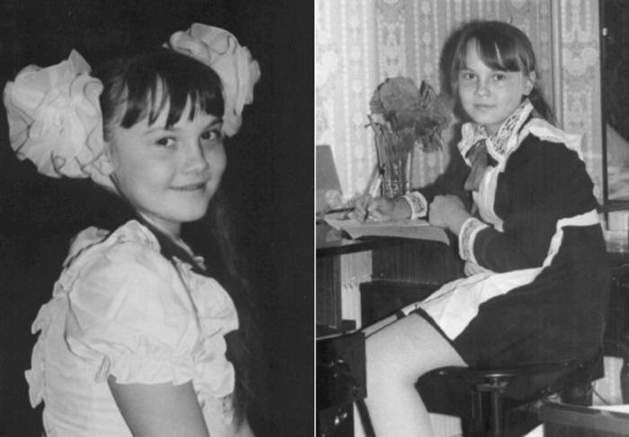 Татьяна Снежина в детстве | Фото: snezhina.ru