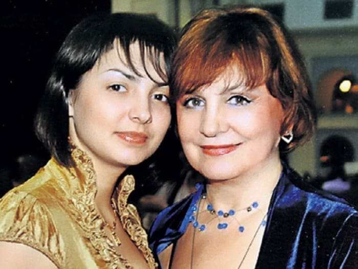 Татьяна Судец с дочерью Дарьей | Фото: peoples.ru