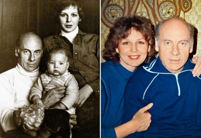 Татьяна и Евгений Ташковы с сыном | Фото: kino-teatr.ru