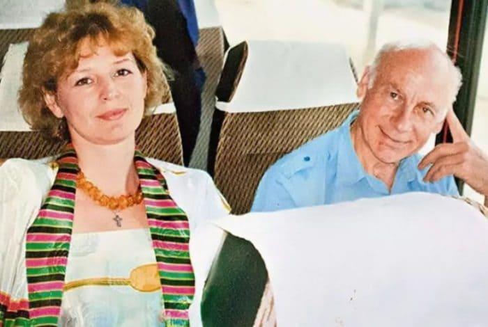 Актриса с мужем | Фото: biographe.ru