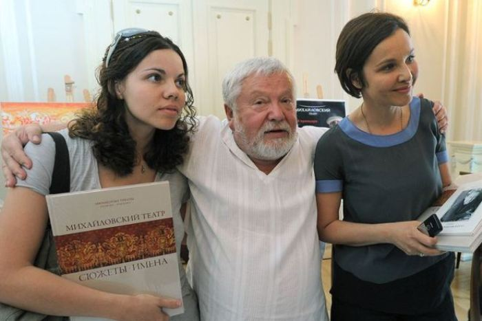 Татьяна Друбич и Сергей Соловьев с дочерью   Фото: 24smi.org