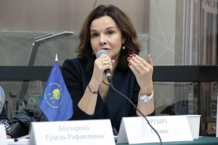 Татьяна Друбич – сопредседатель попечительского совета благотворительного фонда *Вера*   Фото: 24smi.org