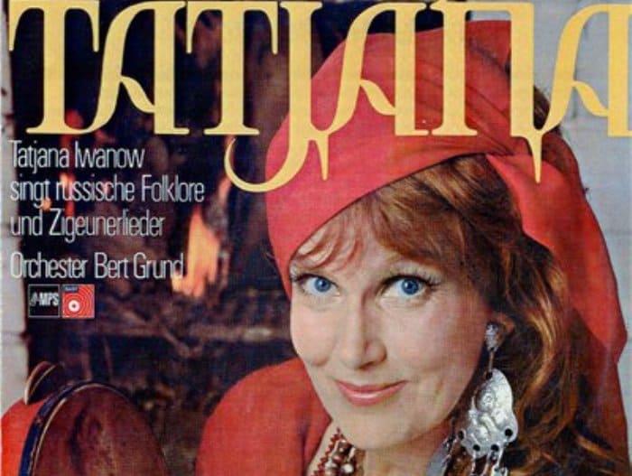 Пластинки с песнями Татьяны Ивановой пользовались в Европе большой популярностью | Фото: kino-teatr.ru