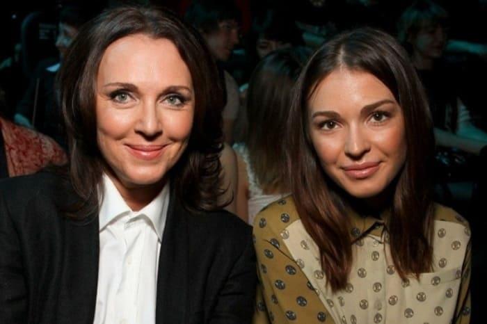Актриса с дочерью, Агнией Дитковските | Фото: vokrug.tv