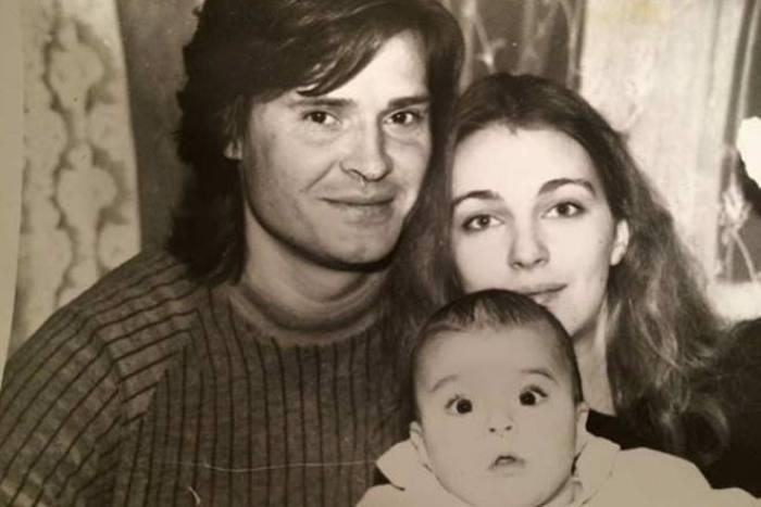 Актриса с мужем Олегасом Дитковскисом и дочерью Агнией | Фото: 24smi.org
