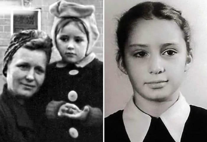 Татьяна Васильева с матерью | Фото: biographe.ru, bulvar.com.ua