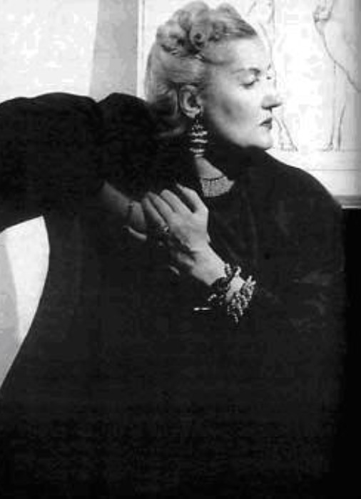 Муза Владимира Маяковского Татьяна Яковлева | Фото: historytime.ru