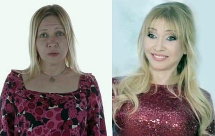 Певица до и после преображения | Фото: stuki-druki.com
