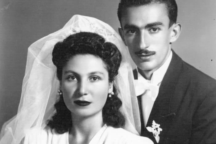 Гоар и Геворк Вартаняны в день свадьбы, 1946 | Фото: lenta.ru