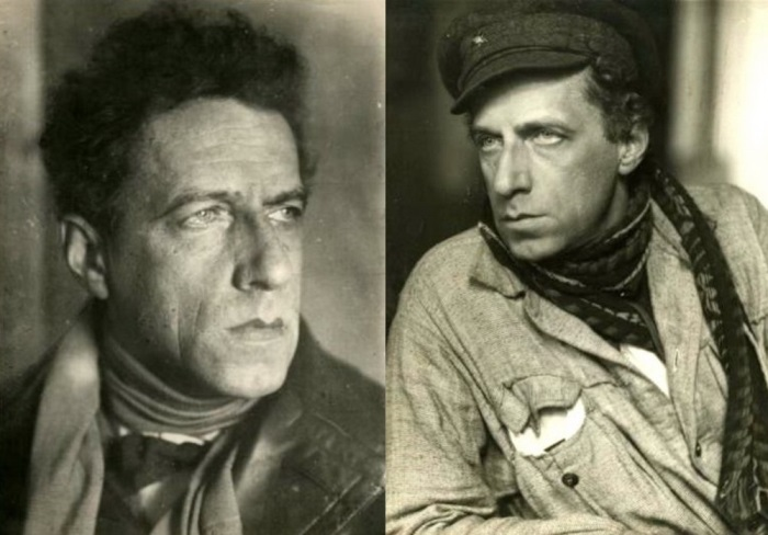 В. Мейерхольд. Фото 1924 и 1922 гг. | Фото: kino-teatr.ru