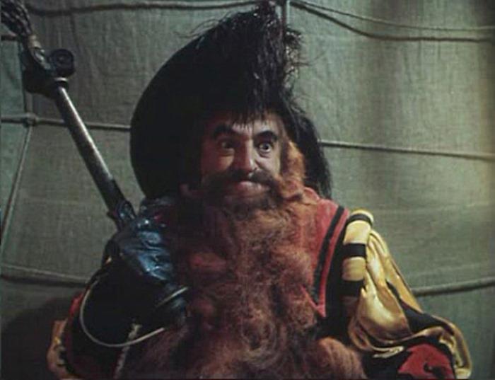 В. Этуш в образе Карабаса Барабаса, 1975 | Фото: kino-teatr.ru