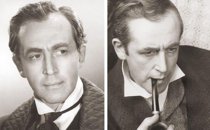 Василий Ливанов в роли Шерлока Холмса | Фото: dubikvit.livejournal.com