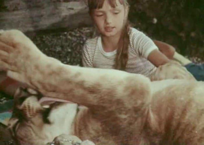Ева Берберова в фильме *У меня есть лев*, 1975 | Фото: kino-teatr.ru