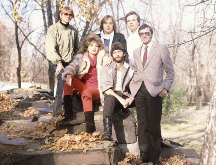 Первый состав группы *Электроклуб* | Фото: v-saltykov.com