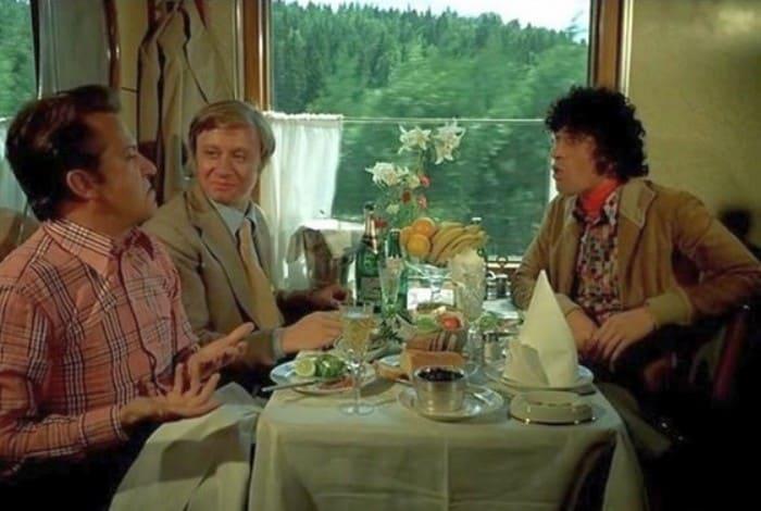 Кадр из фильма *Невероятные приключения итальянцев в России*, 1973   Фото: aeslib.ru