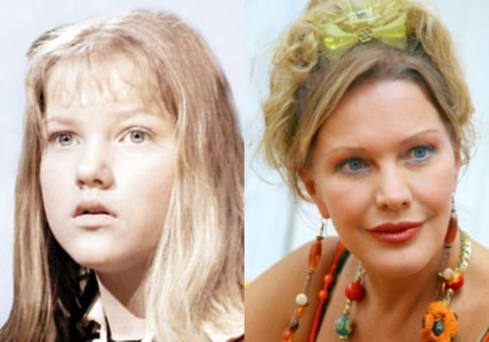 Елена Проклова тогда и сейчас | Фото: kinoistoria.ru