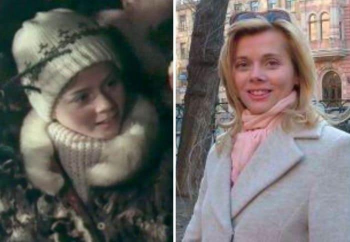 Ангелина Полянчукова в *Сказке о Звездном мальчике* и в наши дни | Фото: kino-teatr.ru