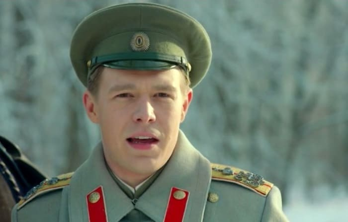 Никита Ефремов в сериале *Григорий Р.*, 2014 | Фото: kino-teatr.ru