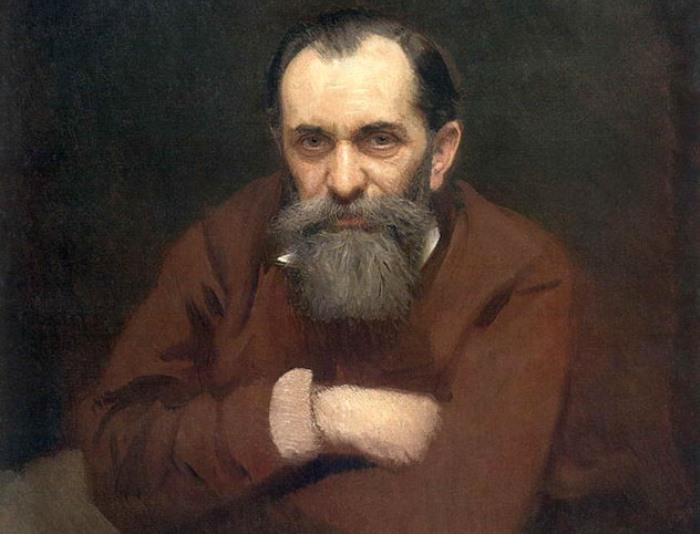 И. Крамской. Портрет В. Перова, 1881 | Фото: mmsk.ru
